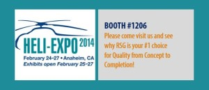RSG Heli-Expo 2014, Booth #1206